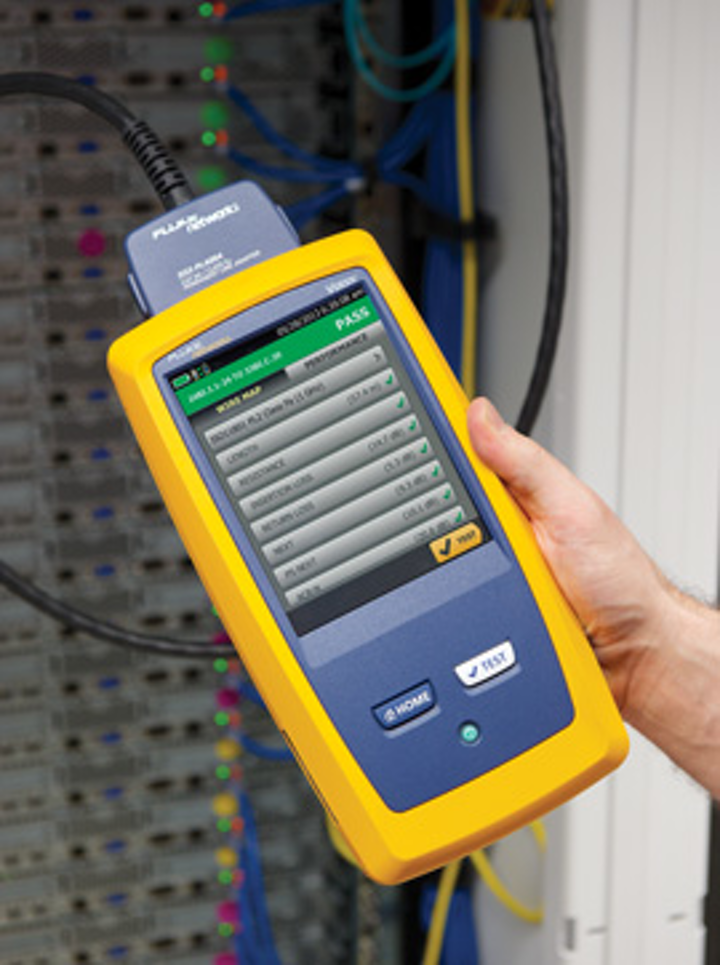 Fluke unveils Versiv family of fiber and copper