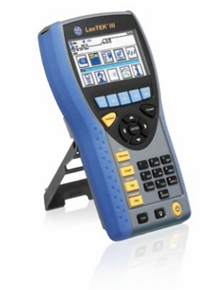 The LanTek III cable test instrument from Ideal Networks can be specified using the six-step process in the company's newly created online Quote Builder.