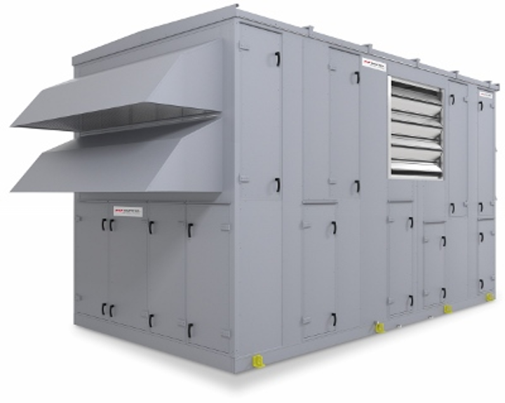 Nortek Air Solutions introduced this indirect evaporative data center cooling system, called Cool3, in June 2015.