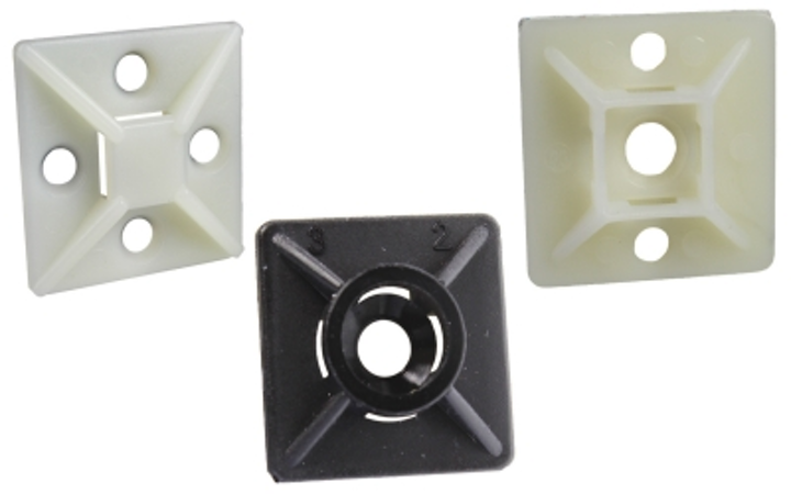 Burndy adds cable tie mounting bases