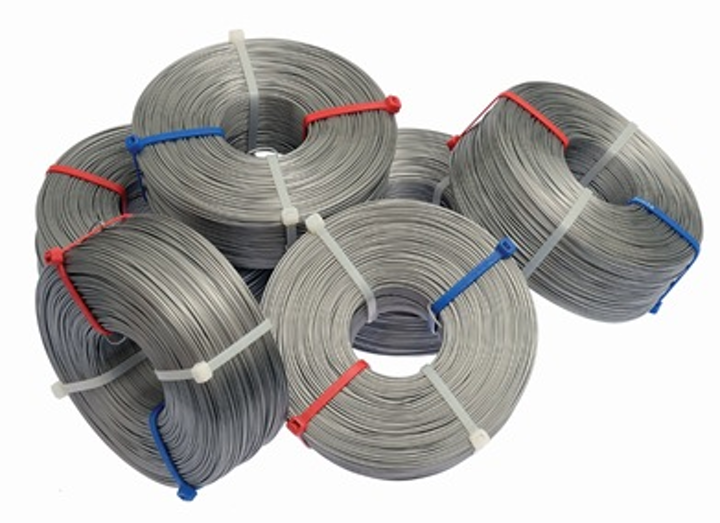 General Machine Products introduced three grades of stainless steel lashing wire: Type 430, Type 302 and Type 316.