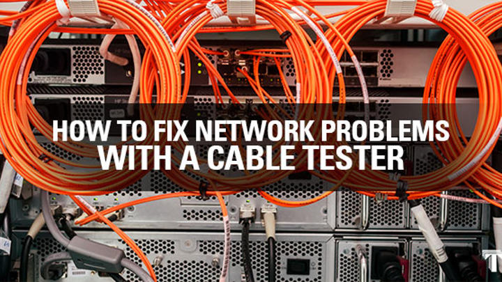Network cable tester tips
