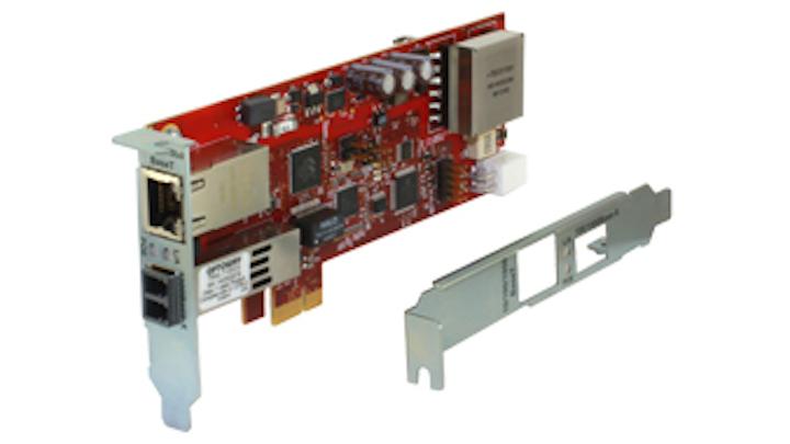 Transition's latest Gigabit Ethernet NIC brings secure PoE to fiber-connected desktops