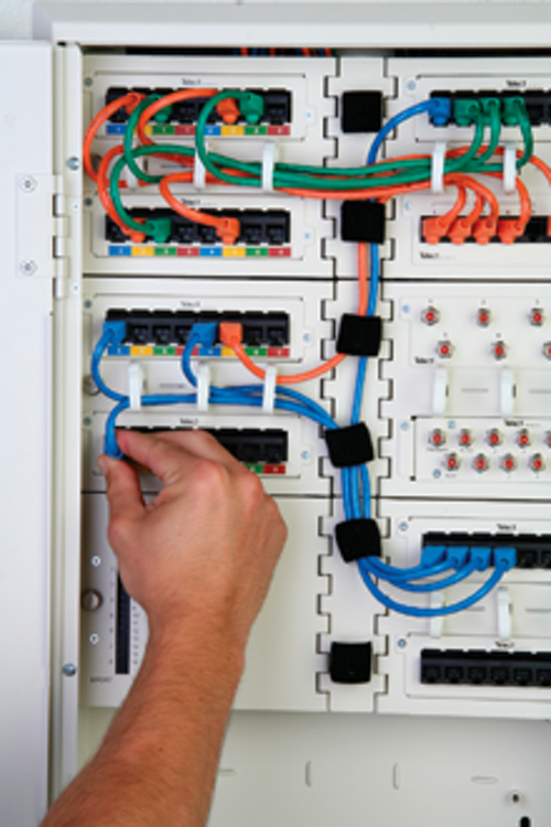 Structured cabling system aimed at home, small office ... on