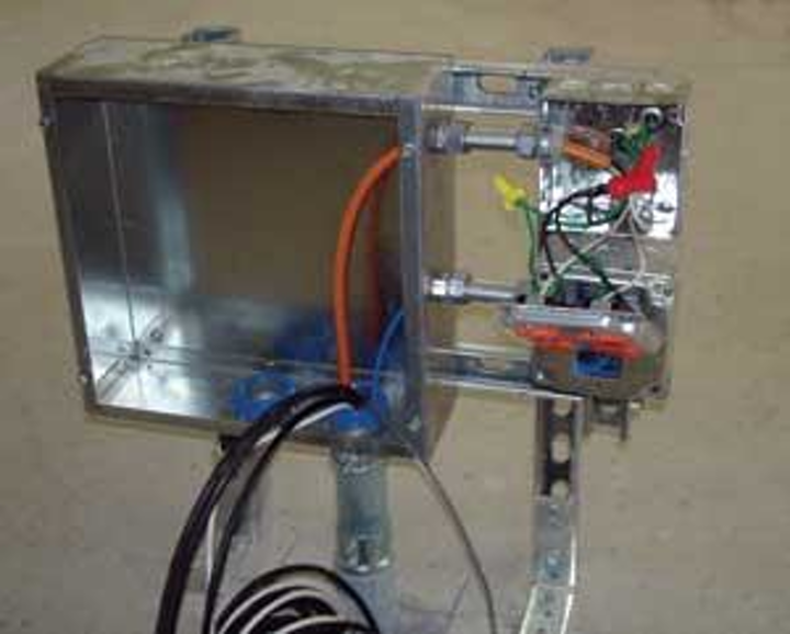 Barrier cable technology allows forpower, low-voltage in one ... on power wiring, receptacles wiring, aluminum wiring, ballasts wiring, electrical wiring, transformers wiring, junction box wiring, panel wiring, emt wiring, copper wiring, lighting wiring, thermostats wiring, tube wiring, hvac wiring, control wiring, switch wiring, circuit wiring, home wiring, cable wiring, well wiring,