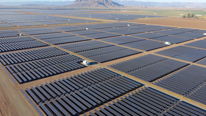 Solar PV power plant requires 40 miles of cable tray