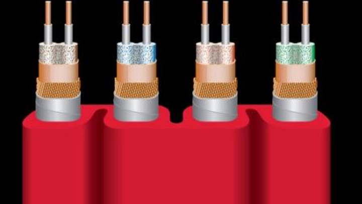 This is a schematic drawing of WireWorld's Starlight Category 8 cable, which the company unveiled at the Consumer Electronics Show. Wireworld's Tite-Shield Technology 'isolates the four channels with a three-layer shield on each conductor pair,' the company told Dealerscope's Katie Nale.