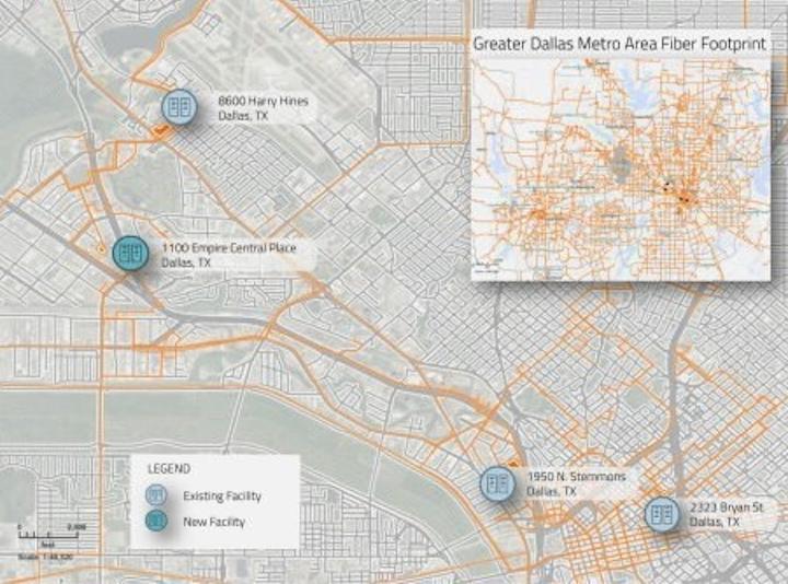 Zayo doubles Dallas data center footprint