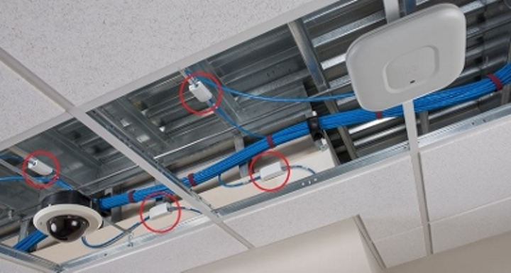 Plenum-rated surface mount boxes | Cabling Installation