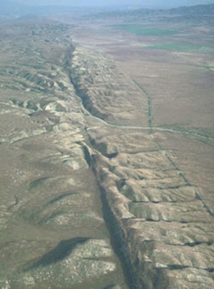 Fiber-optic cables line imminent San Andreas fault concerns