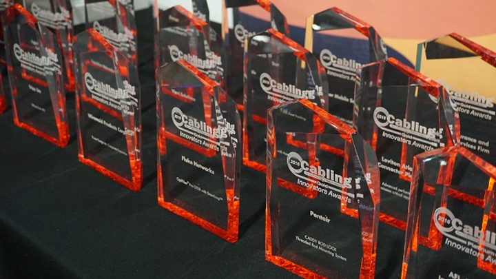 2018 Cabling Innovators Awards includes 10 categories of recognition for products and applications