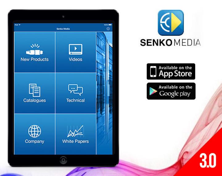 Senko Advanced Components updates mobile app
