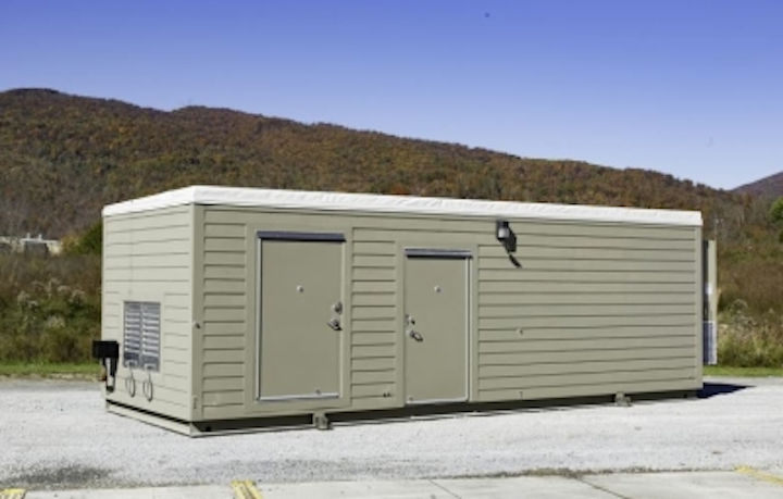 Binary Bunker, a bullet-, vandal-, and fire-resistant modular data center from Edge Mission Critical Systems, incorporates Rittal enclosure, racking, and cooling technologies.