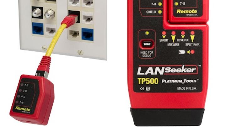 Platinum Tools to debut LANSeeker cable tester, tone generator at