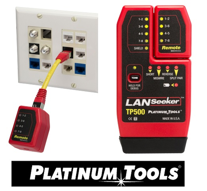 Platinum Tools to showcase LANSeeker cable tester at 2017 CEDIA Expo