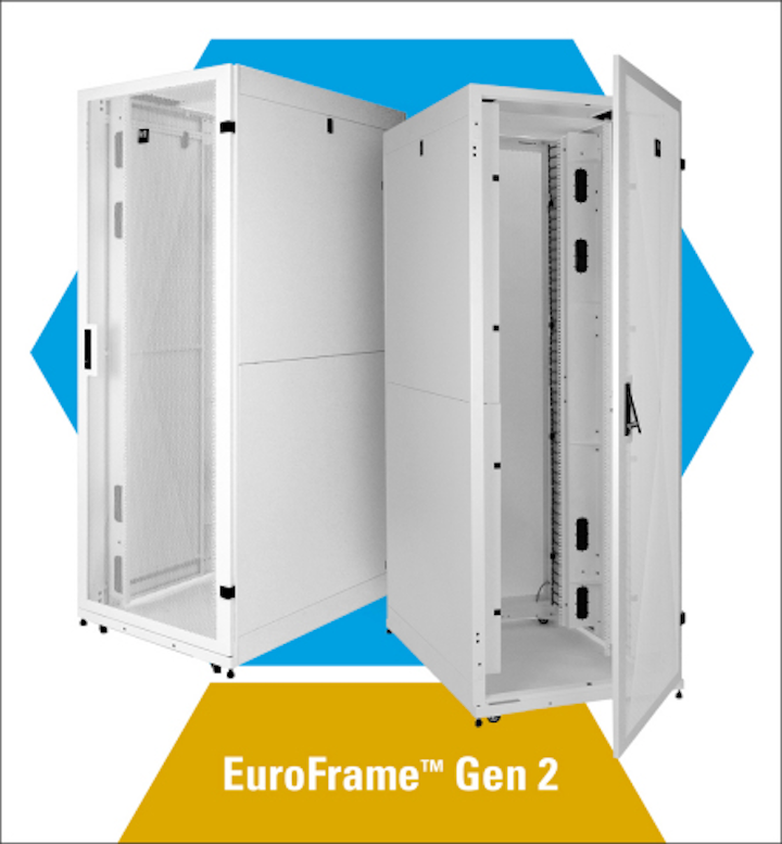 Chatsworth Products launches EuroFrame Gen 2 data center cabinet
