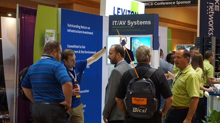 Leviton tapped for 3 talks at 2018 BICSI Winter show, including Cat 8 cabling, enterprise fiber, AV installations