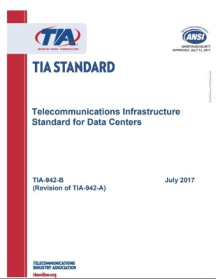 One attendee of the TIA's Optimizing Data Center Performance Workshop will receive a free copy of the ANSI/TIA-942-B standard.