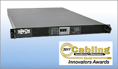 Tripp Lite receives Gold and Silver -level Cabling Installation & Maintenance 2017 Innovators Awards
