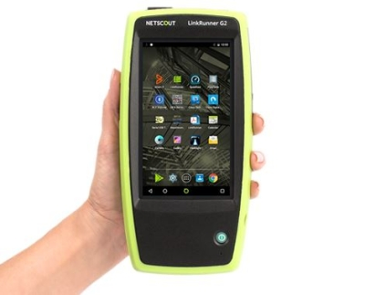 NetScout's LinkRunner G2 is an Android-based smart network tester, which tests Power over Ethernet, copper Ethernet and fiber Ethernet.