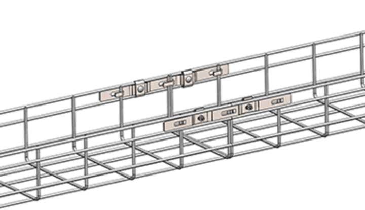 Cope's Quick-Latch saves labor when splicing two cut ends of wire basket together