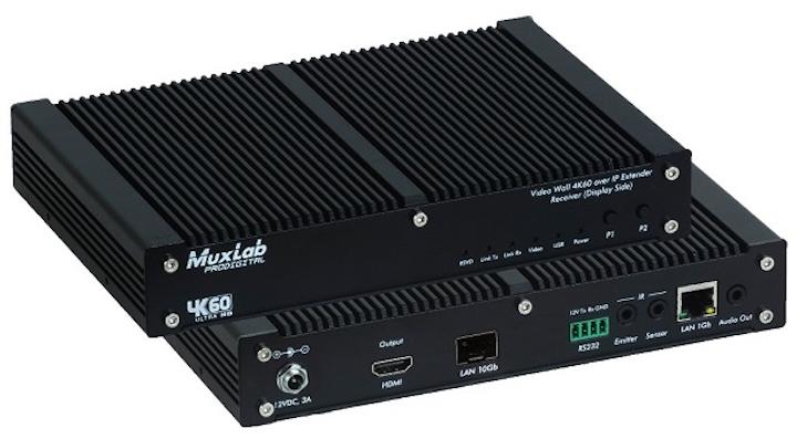 MuxLab's latest AV-over-IP fiber extender delivers uncompressed 4K/60 video globally