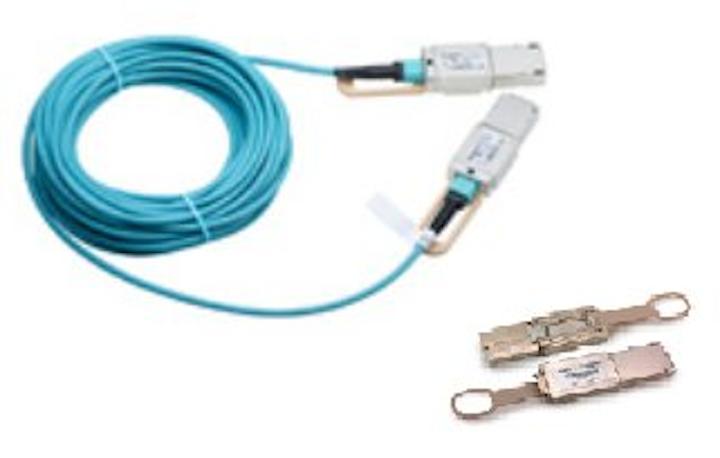 Foxconn unveils CXP2 transceiver and AOC for 300G pluggable fiber-optic links
