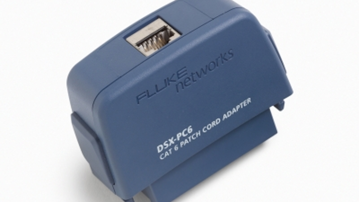 Adapters newly available from Fluke Networks allow installers to certify modular plug terminated link (MPTL) installations to the draft ANSI/TIA-568.2-D standard.