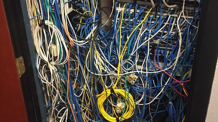 Cabling clean-up service fixes 'knotwork' problems