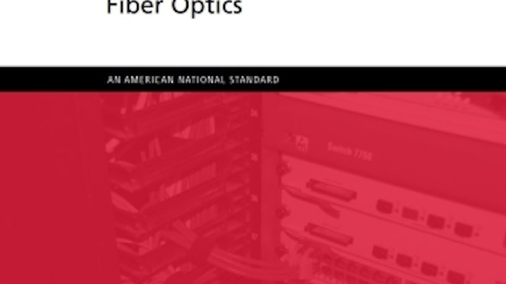 The NECA/FOA-301 Installing and Testing Fiber Optics standard, most recently updated in 2016, is available for free download from the Fiber Optic Association.