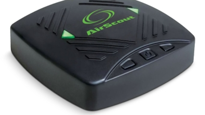 Greenlee's AirScout WiFi test system now includes GigaCheck, an app-controlled means of measuring SNR, PHY rate and transmit/receive success rates.