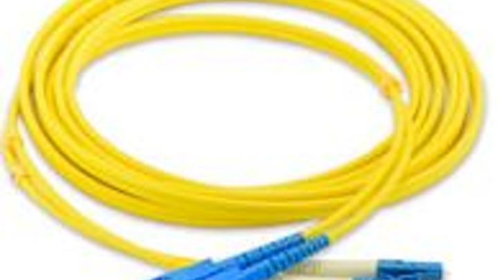 ilsintech's singlemode (shown) and multimode fiber-optic cable assemblies  are now available to