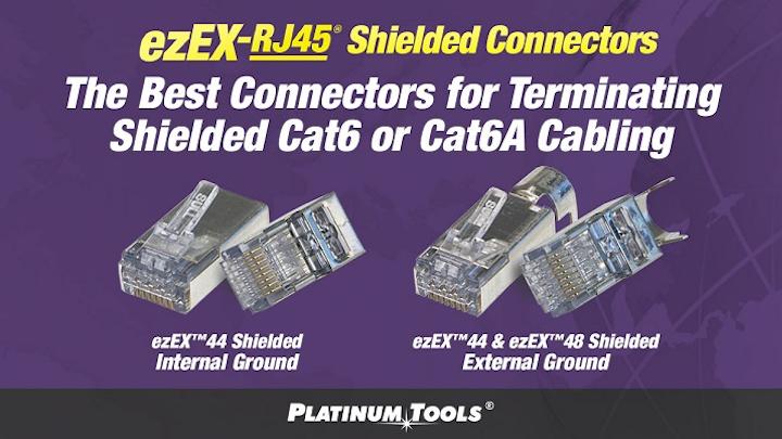 Platinum Tools showcases ezEX-RJ45 shielded connectors at 2018 CEDIA Expo