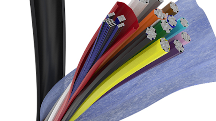 Corning says RocketRibbon extreme-density cable speeds fiber identification, routing by up to 30%