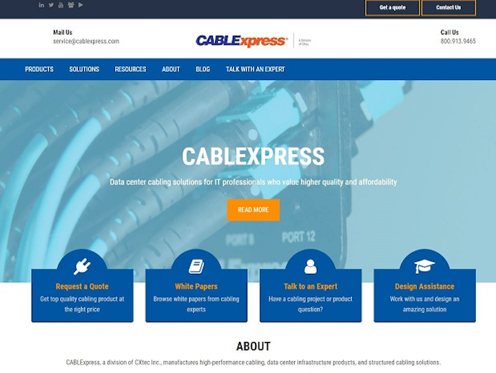 CABLExpress launches new website