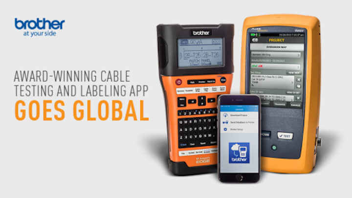 Brother Mobile Solutions launches iLink&Label mobile app for integrated cable testing and labeling