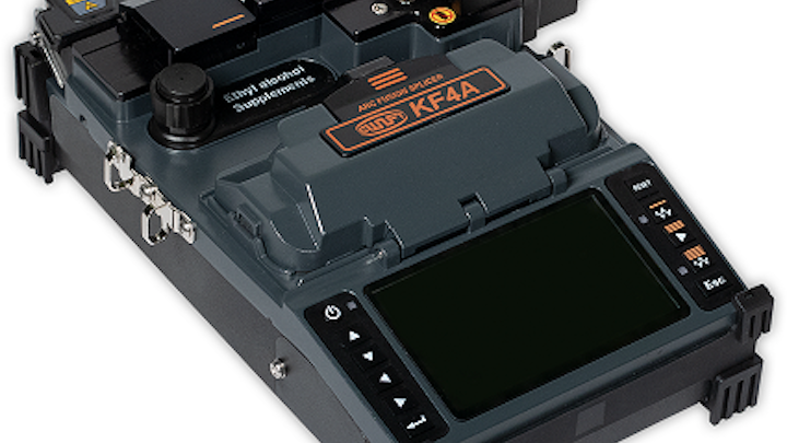 Active cladding alignment fusion splicer performs 5 all-in-one functions