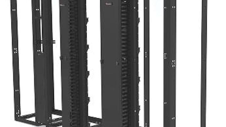 Content Dam Etc Medialib New Lib Cablinginstall Online Articles 2011 01 Siemon Versapod 4 Post Rack 46399