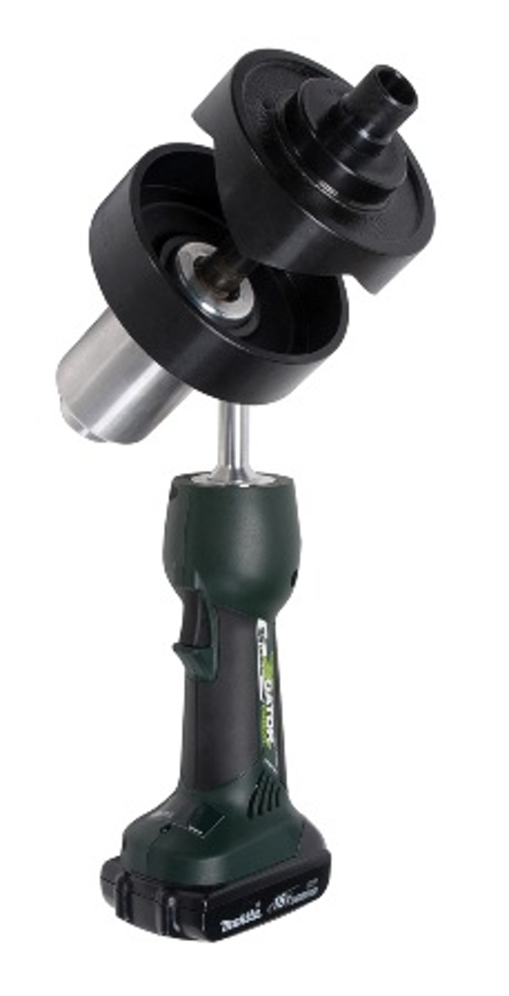 Content Dam Etc Medialib New Lib Cablinginstall Online Articles 2011 05 Greenlee Ls50l Battery Powered Knockout Punch Driver 43032