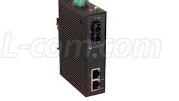 Content Dam Etc Medialib New Lib Cablinginstall Online Articles 2011 09 L Com Din Rail Mount Media Converter 81676