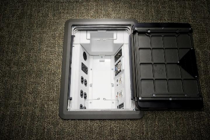 Content Dam Etc Medialib New Lib Cablinginstall Online Articles 2011 09 Wiremold Evolution Floor Box 95965