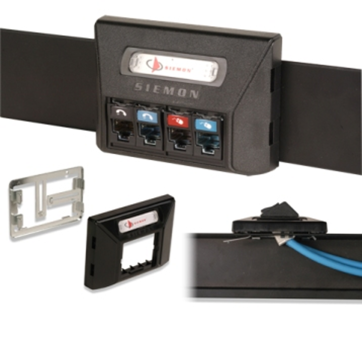 Content Dam Etc Medialib New Lib Cablinginstall Online Articles 2012 May Siemon Universal Modular Furniture Adapter 26856
