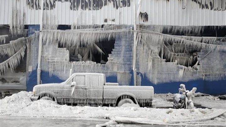 How Time Warner Cable installer techs dealt with an unexpected ice storm