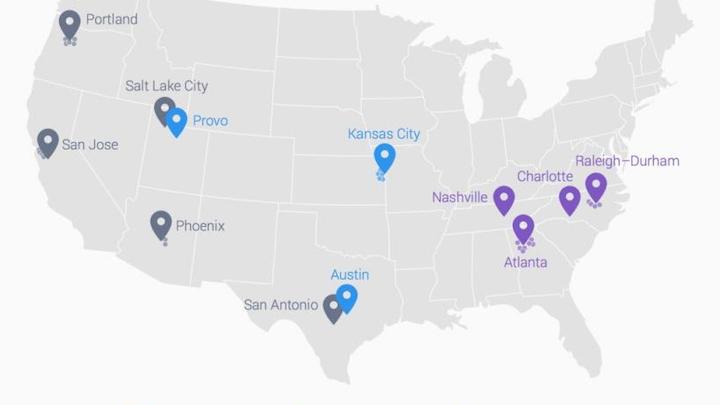 Google Fiber coming to 4 more U.S. cities
