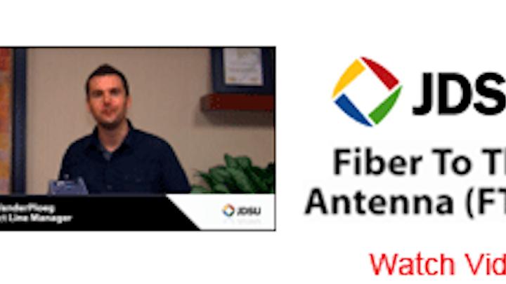 ETA fiber-to-the-antenna training set for mid-March