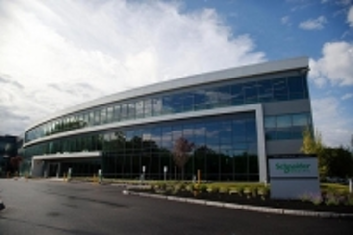 Schneider Electric's new Boston-area R&D campus leverages proprietary data center cooling/UPS, IP security systems