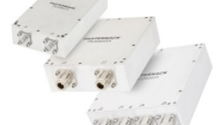 RF power combiners support broadband applications up to 6 GHz