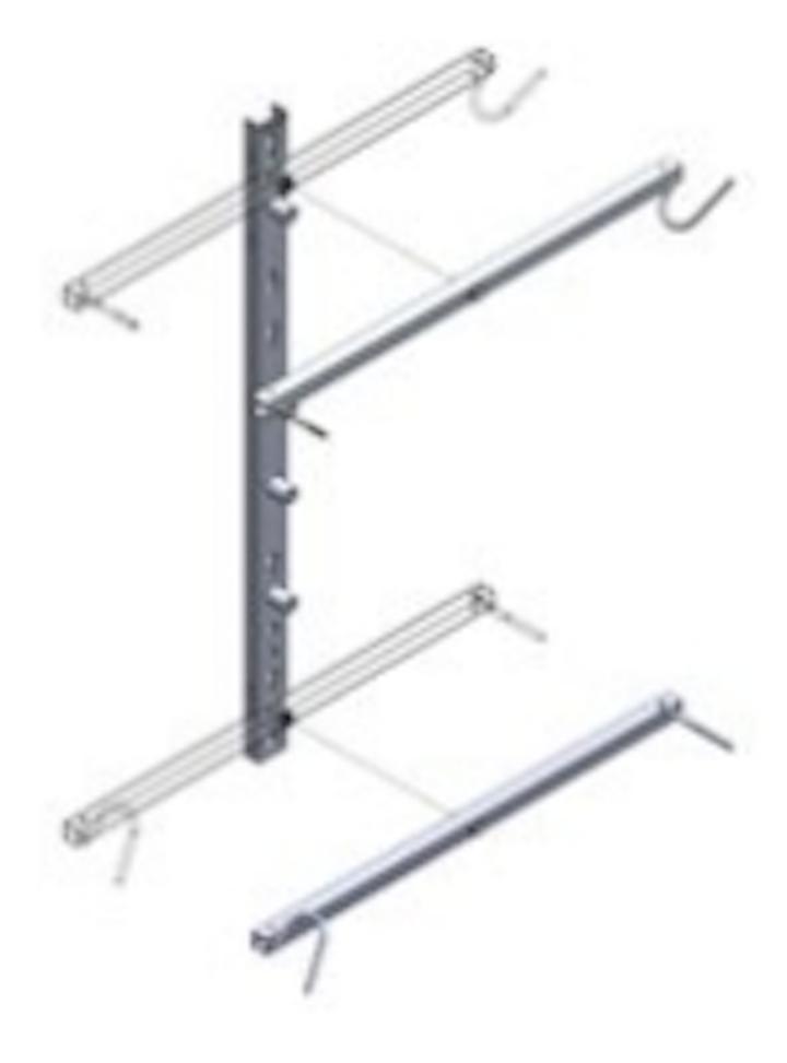 AFL adds lighter aluminum coil bracket for fiber splice enclosures