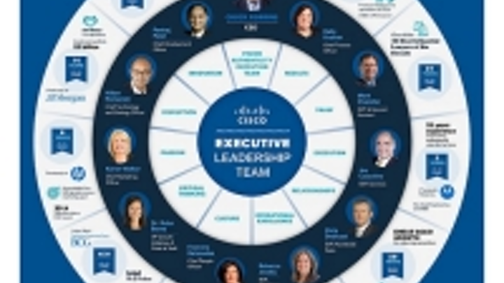 Incoming Cisco CEO names new executive leadership team