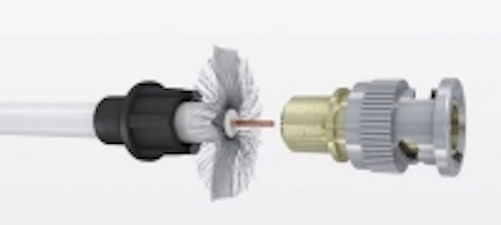 Time-saving BNC connector for coaxial cable | Cabling Installation